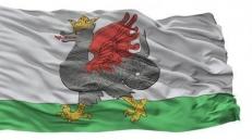 Двухсторонний флаг Казани фото