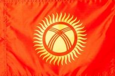 Флаг Киргизии фото