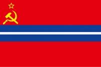 Флаг Киргизской ССР