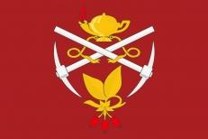 Флаг Кизеловского района фото