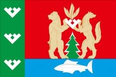 Флаг Красноселькупского района ЯНАО фото