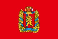 Флаг Красноярского края фото