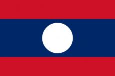 Флаг Лаоса фото