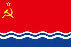 Флаг Латвийской ССР фото