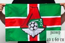 Флаг 40Х60 см «Локомотив» фото