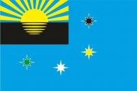 Флаг г.Макеевка Украина