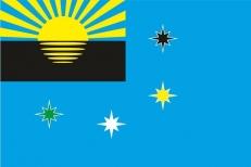 Флаг г.Макеевка Украина фото