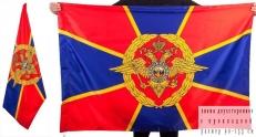 Двухсторонний флаг МВД РФ фото