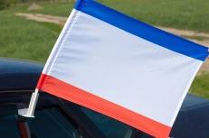 Флаг на машину «Автономная республика Крым» фото