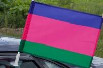 Флаг на машину «Кубанское Казачье войско»