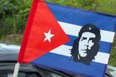 Флаг на машину с кронштейном «Че Гевара» фото