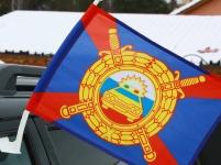 Флаг на машину с кронштейном «ДПС»