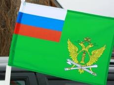 Флаг на машину с кронштейном «ФССП» фото