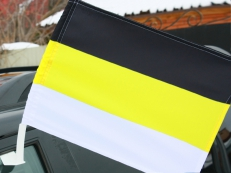 Имперский флаг на машину с кронштейном «Триколор» фото