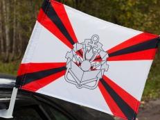 Флаг на машину Инженерные войска фото