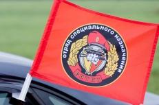 Флаг на машину с кронштейном Спецназа ВВ 15 ОСН Вятич фото