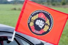 "Флаг на машину с кронштейном Спецназа ВВ ""604 ЦСН"" фото"