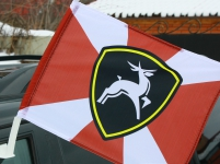 Флаг на машину с кронштейном «Приволжский округ»