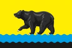 Флаг Нефтеюганска фото