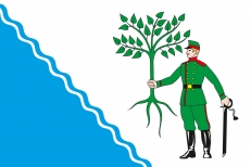 Флаг Новокубанска фото