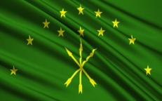 Флаг Адыгеи фото