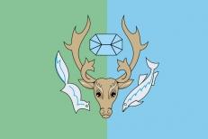 Флаг Приуральского района фото