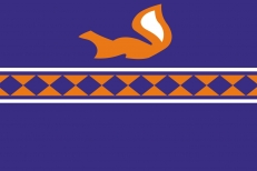 Флаг Пуровского района фото
