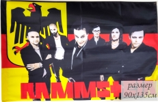Флаг «Rammstein» 40x60 см фото