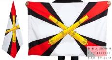 Двухсторонний флаг «РВиА» фото
