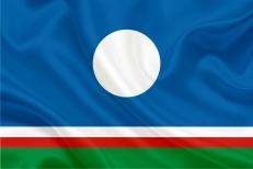Флаг Республики Саха (Якутия) фото