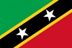 Флаг Сент-Китс и Невис фото
