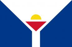 Флаг Сен-Мартена фото