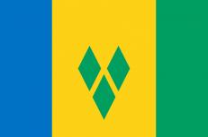 Флаг Сент-Винсент и Гренадины фото