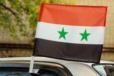 Флаг Сирии на машину фото