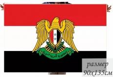 Флаг Сирии с гербом фото
