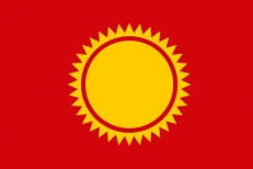 Флаг Солнечного района фото
