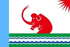 Флаг Среднеколымска фото