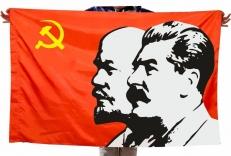 """Флаг """"Ленин Сталин"""" фото"""