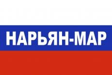 Флаг триколор Нарьян-Мар фото