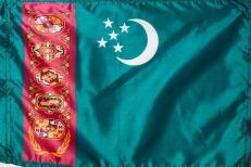 Флаг Туркмении фото