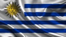 Флаг Уругвая фото