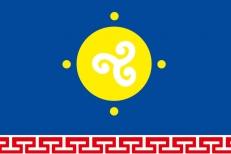 Флаг Усть-Ордынского Бурятского округа фото
