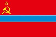 Флаг Узбекской ССР фото