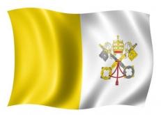 Флаг Ватикана фото