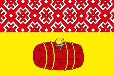 Флаг Вельского района фото