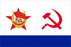 """Флаг ВМФ СССР """"Краснознамённый"""" фото"""