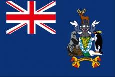 Флаг Южной Георгии и Южных Сандвичевых островов фото
