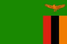 Флаг Замбии фото