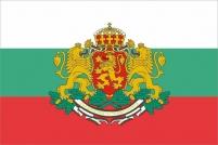 "Флаг Болгарии с гербом ""Штандарт Президента"""