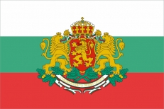 """Флаг Болгарии с гербом """"Штандарт Президента"""" фото"""